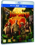 Jumanji : welcome to the jungle (3D+2D) (blu-ray)